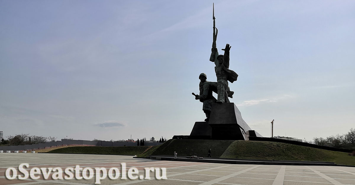 Памятник Солдату и Матросу Севастополь