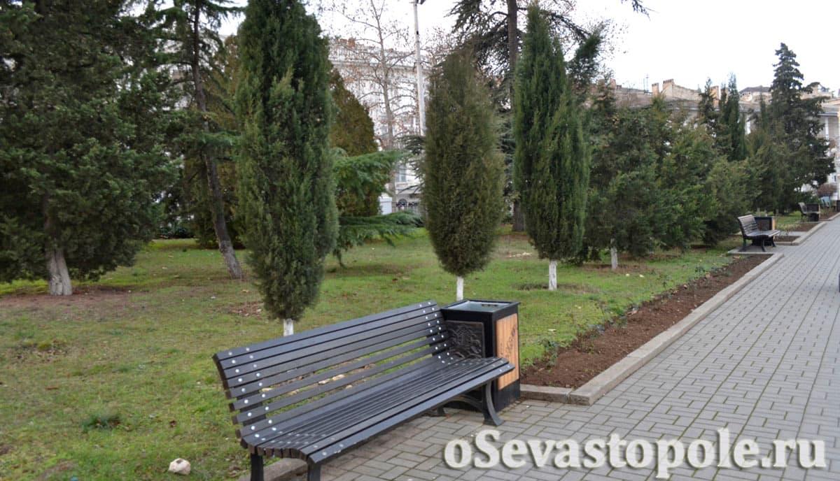 Парк воинов интернационалистов Севастополь