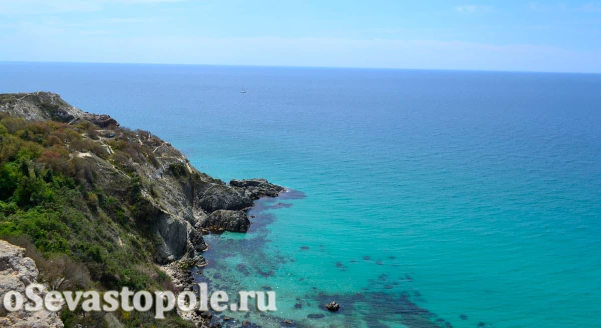 пляж Баунти Фиолент Севастополь