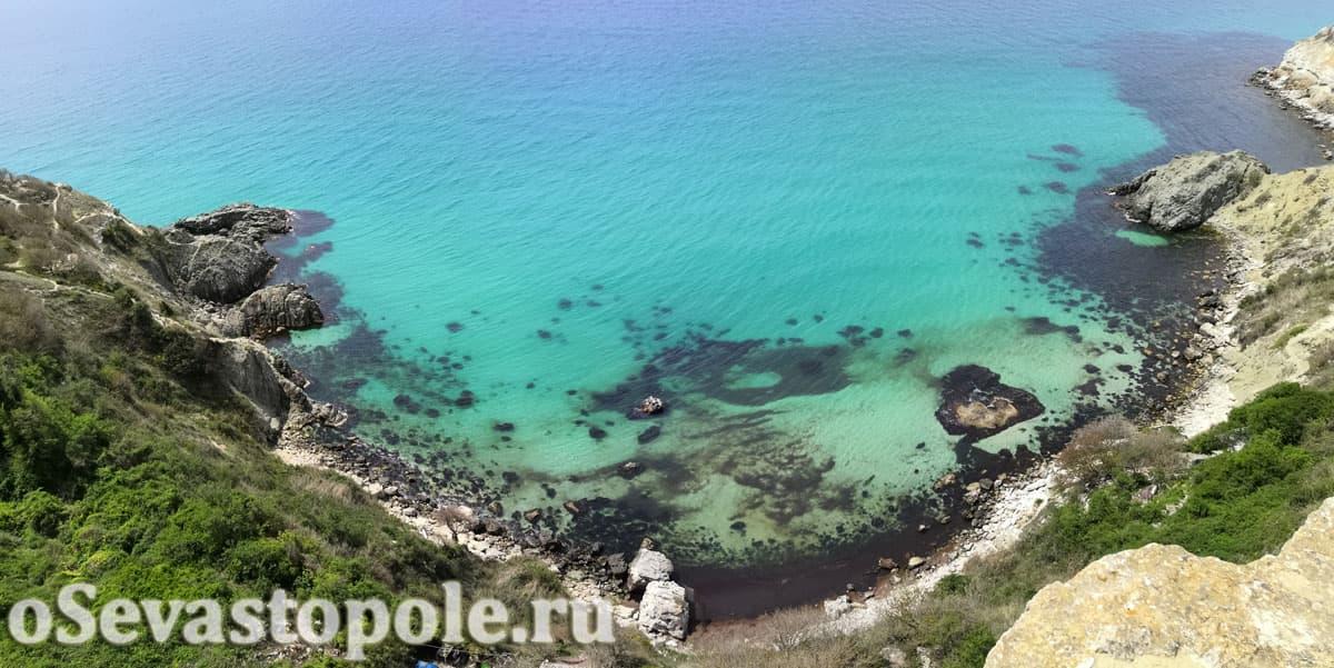 пляж Баунти на Фиоленте