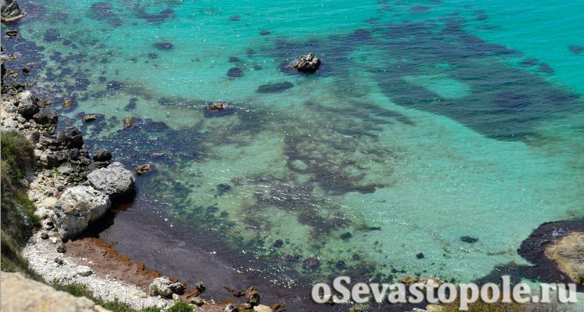 пляж Баунти в Крыму