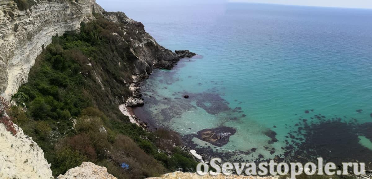 пляж Баунти в Севастополе на Фиоленте