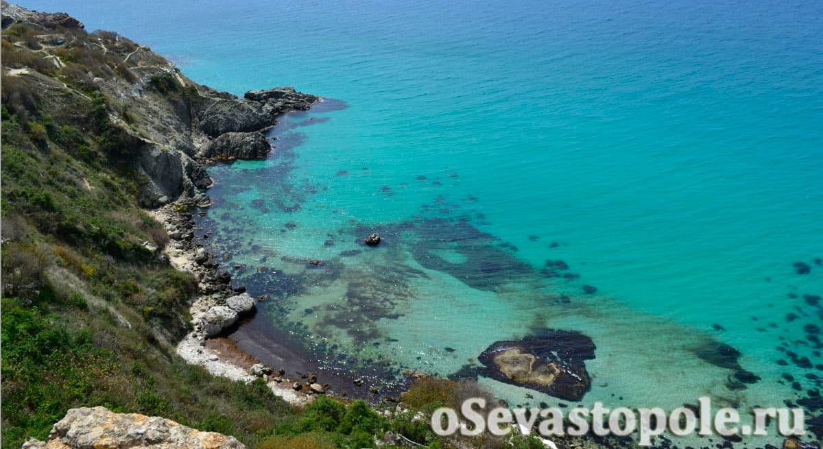 Пляж Баунти в Севастополе