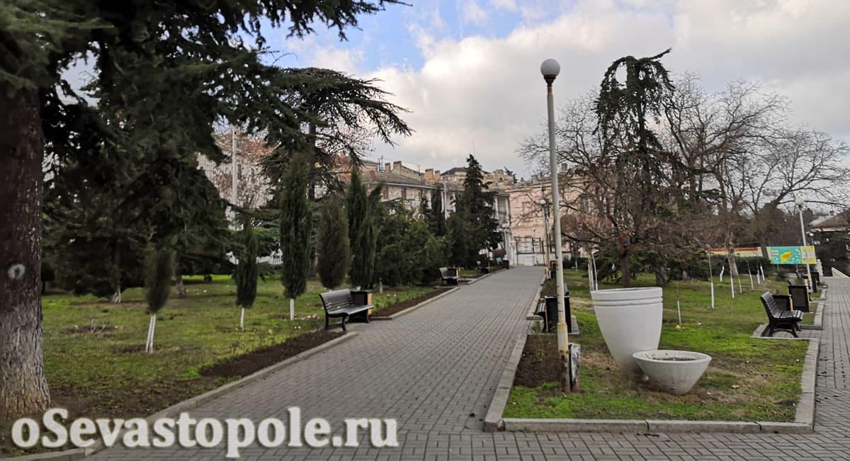Сквер воинов интернационалистов Севастополь