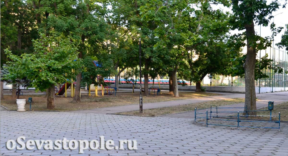 Детский парк в Севастополе
