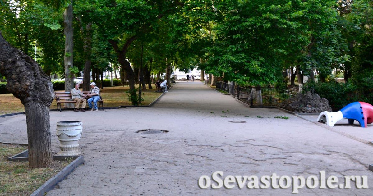 Комсомольский парк Севастополь фото