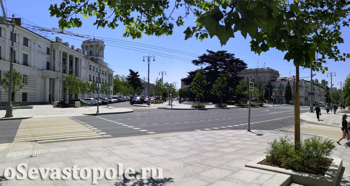 Площадь Лазарева Севастополь