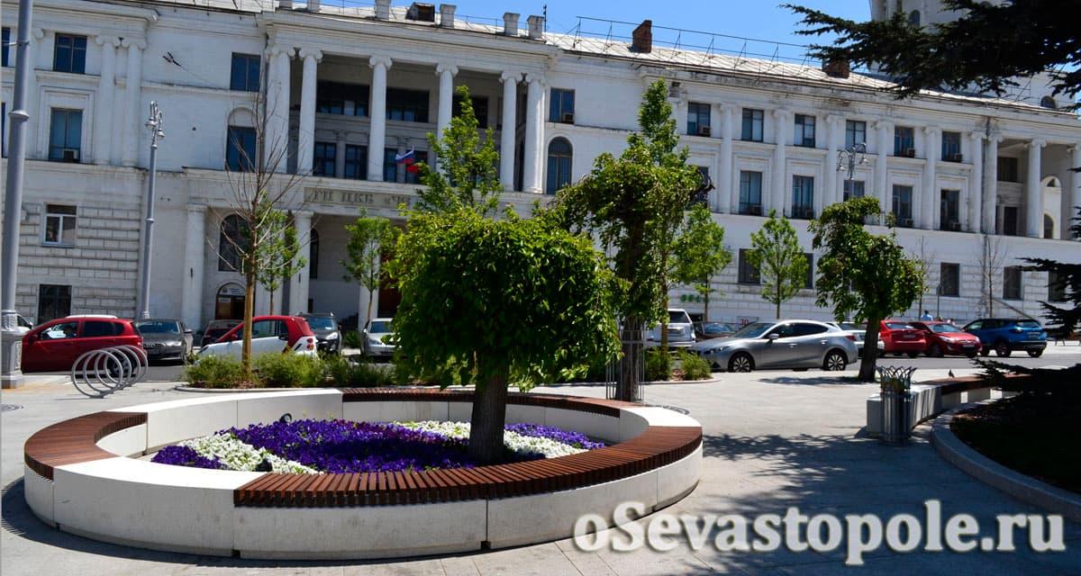 Площадь Лазарева в Севастополе фото после реконструкции