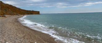 Пляж Немецкая балка в Севастополе