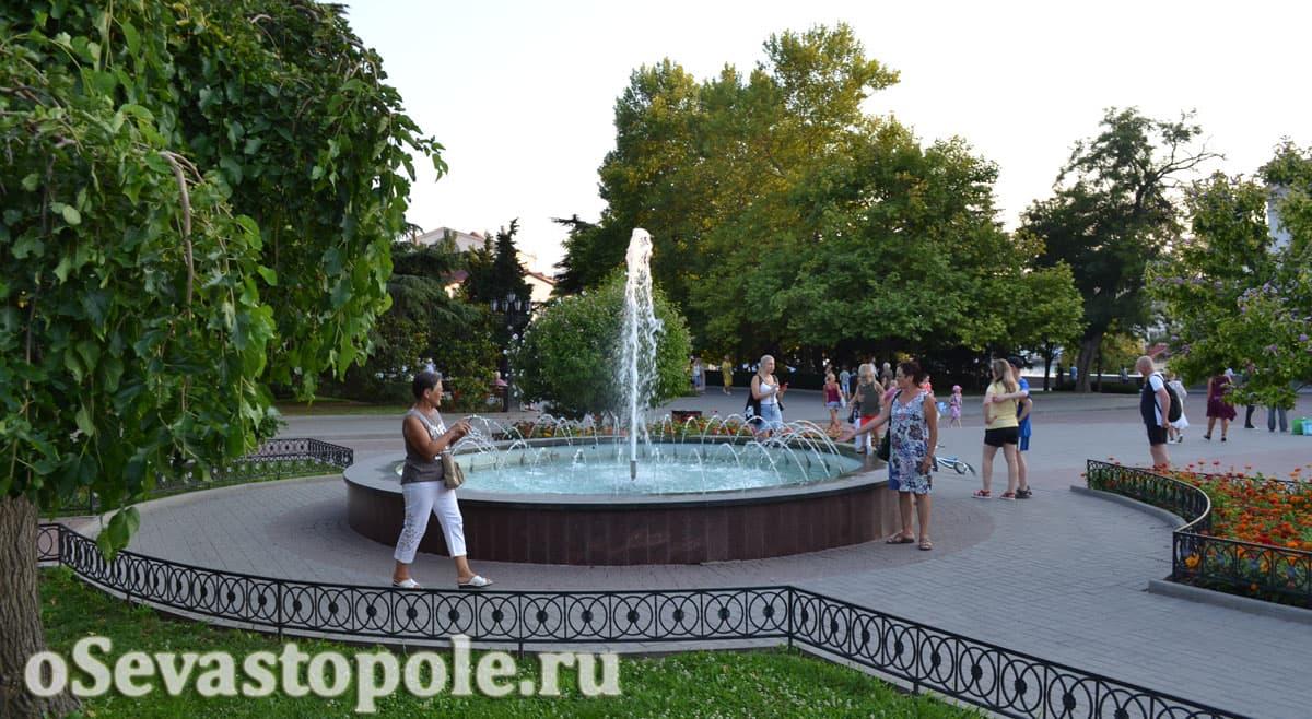 фото Приморского бульвара Севастополь