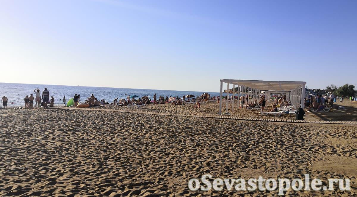 Фотографии пляжа Нахимовец в Севастополе