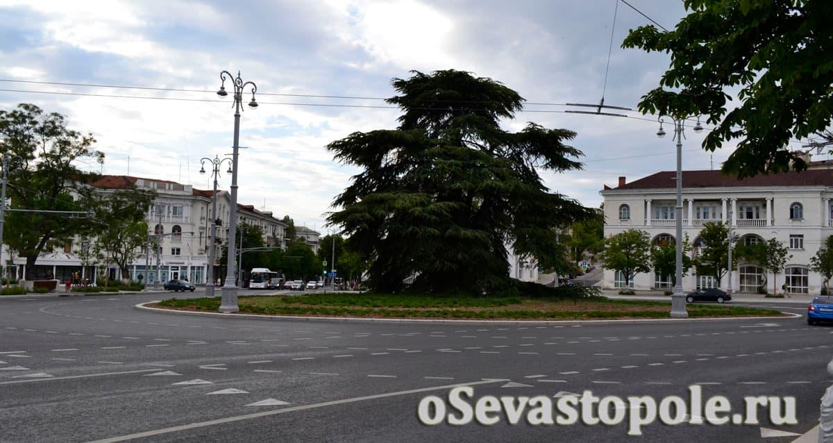 Площадь Ушакова Севастополь