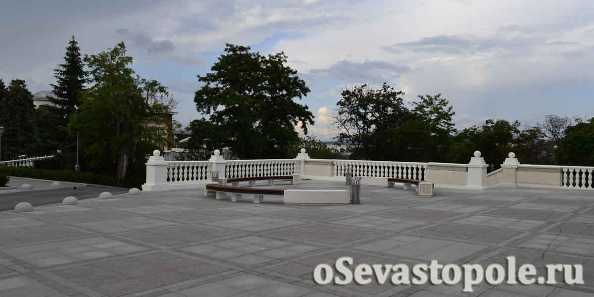 Смотровая площади Ушакова Севастополь