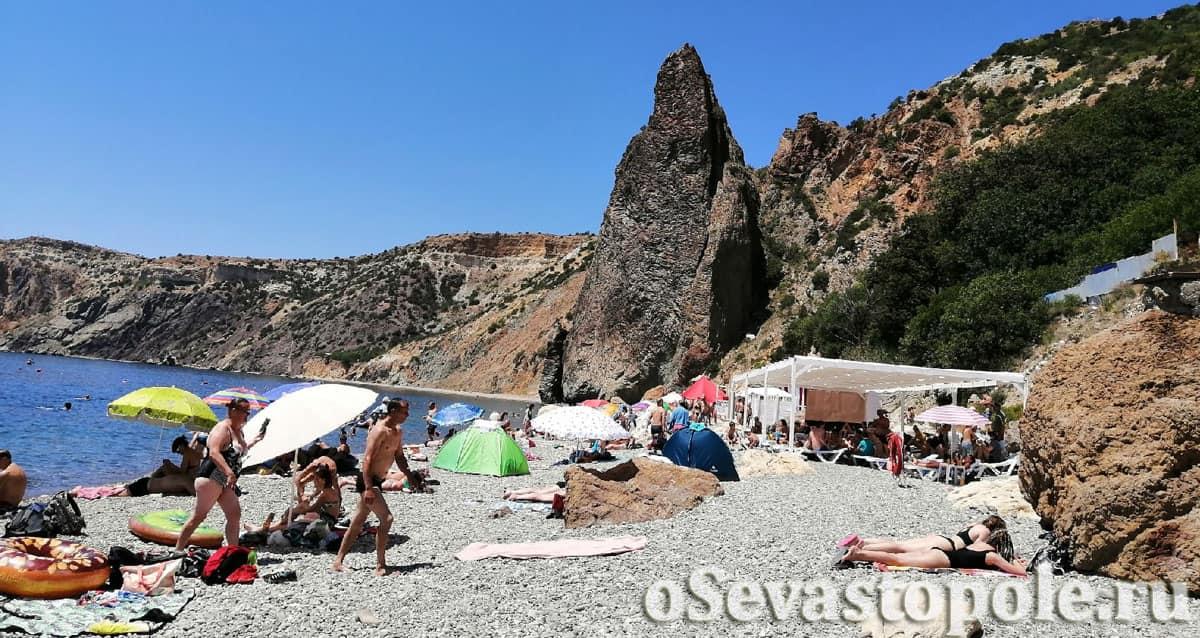 Яшмовый пляж Севастополя