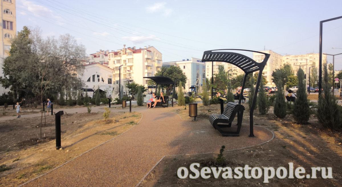Фото парка Астана Кесаева в Севастополе