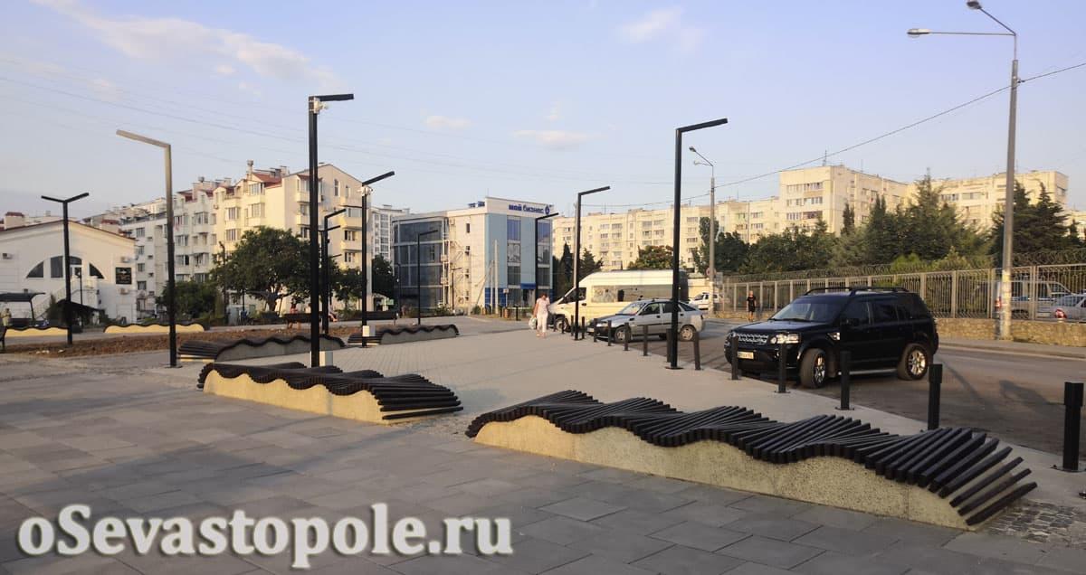 Фотографии сквера Кесаева в Севастополе