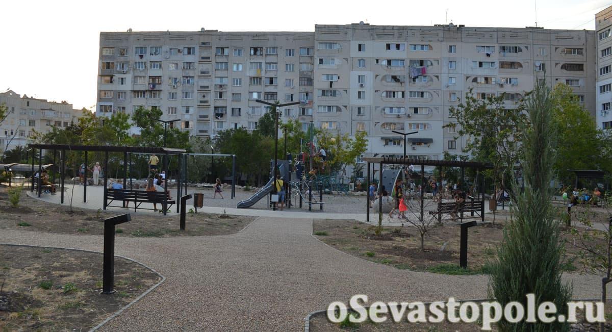 Парк Кесаева в Севастополе