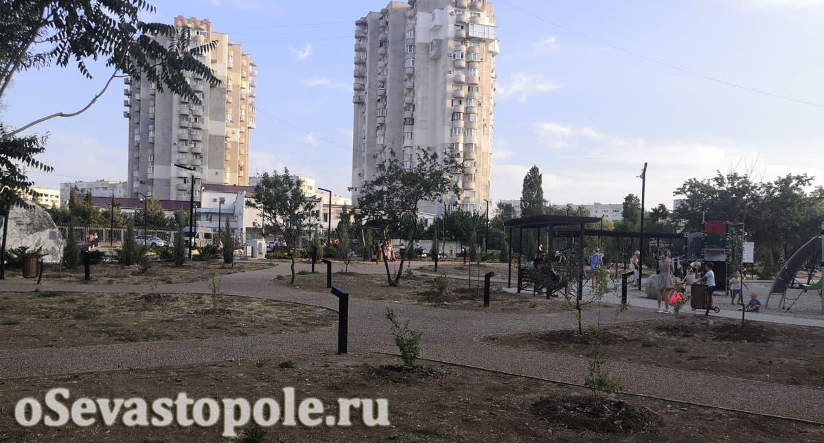 Сквер Кесаева Севастополь