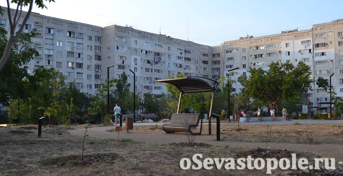Сквер Кесаева в Севастополе
