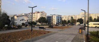 Сквер Астана Кесаева в Севастополе