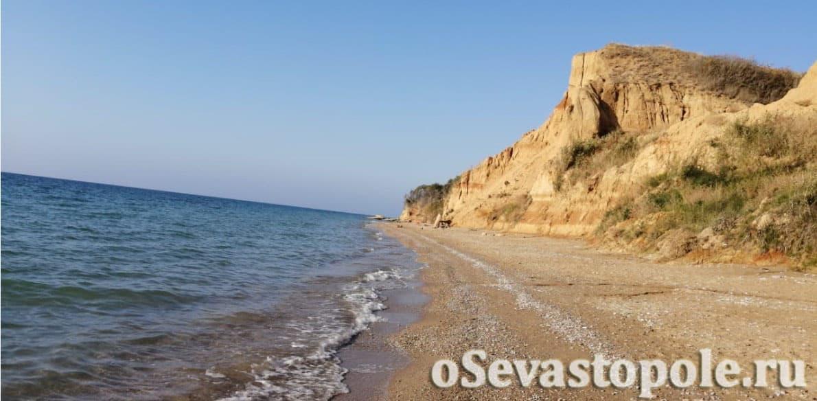 фото пляжа СТ Берег в Севастополе