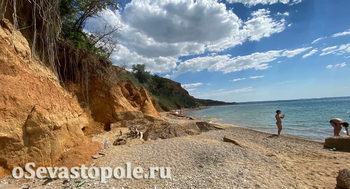 Пляж Бельбек в Севастополе