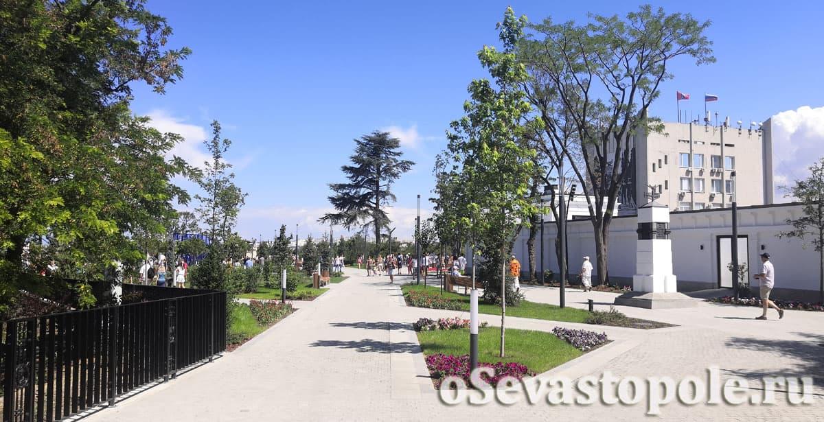 Матросский бульвар Севастополь