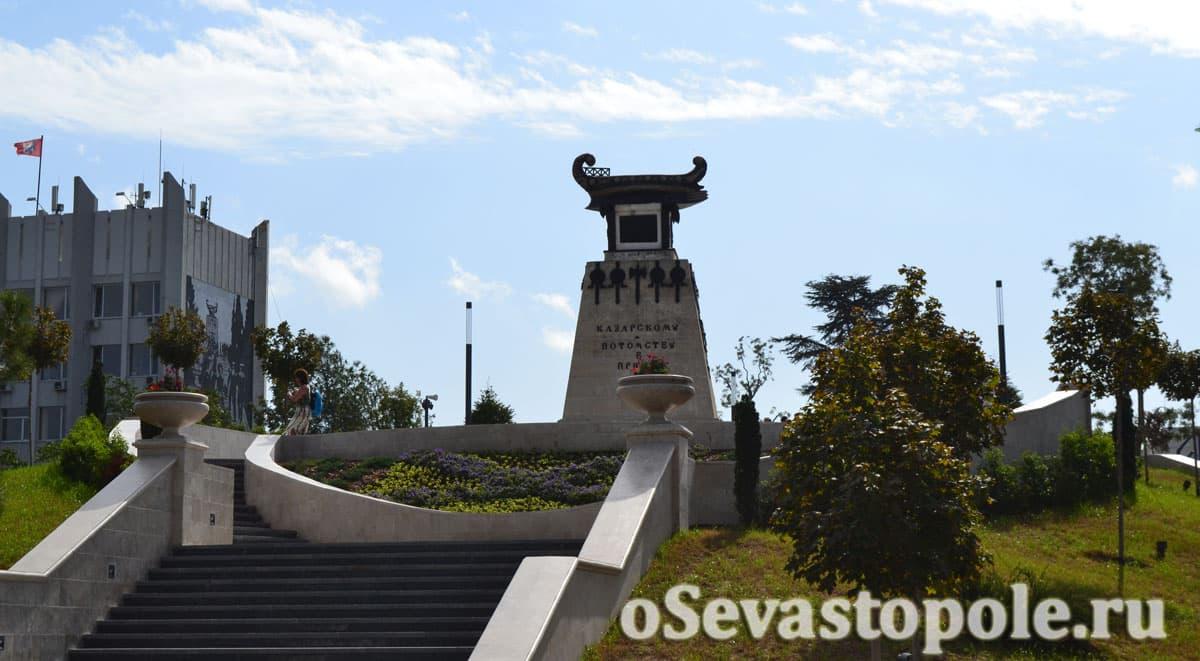 Памятник Казарскому в Севастополе