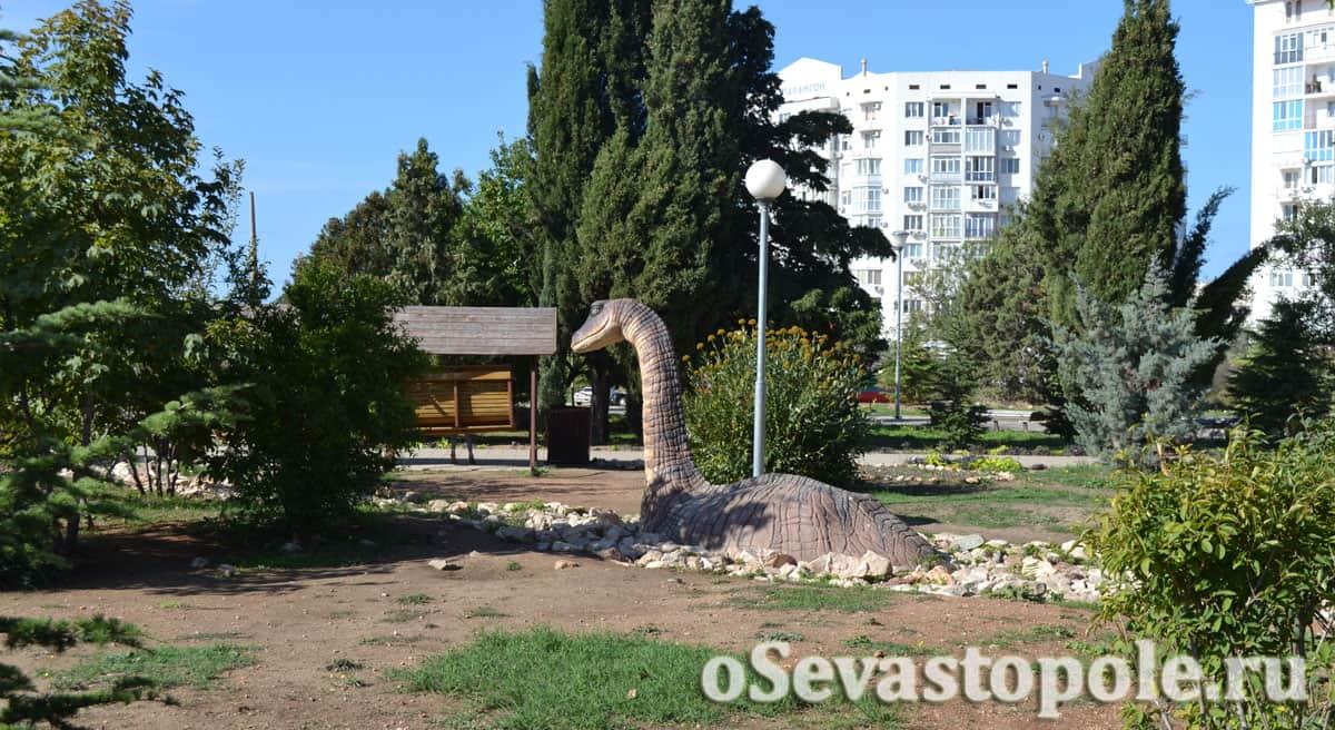 Плезиозавр Динопарк Севастополь