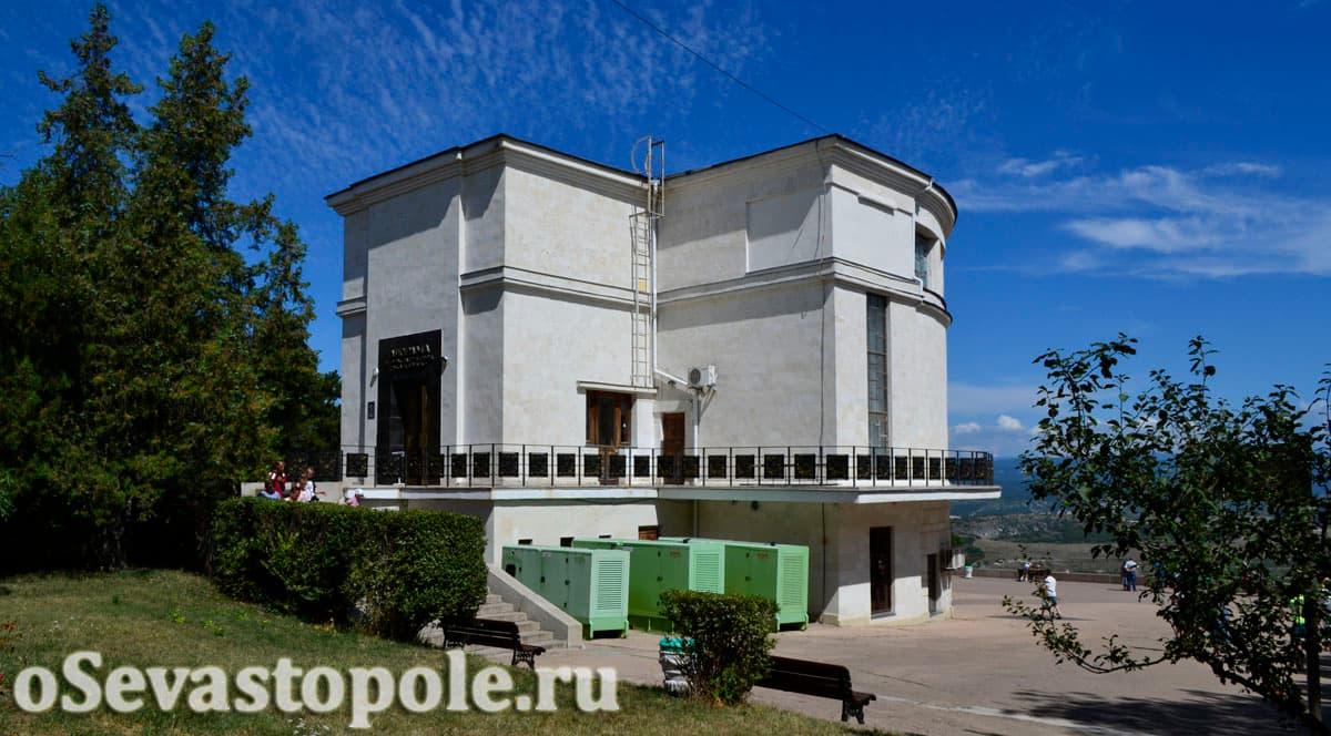 Диорама штурма Сапун-горы Севастополя