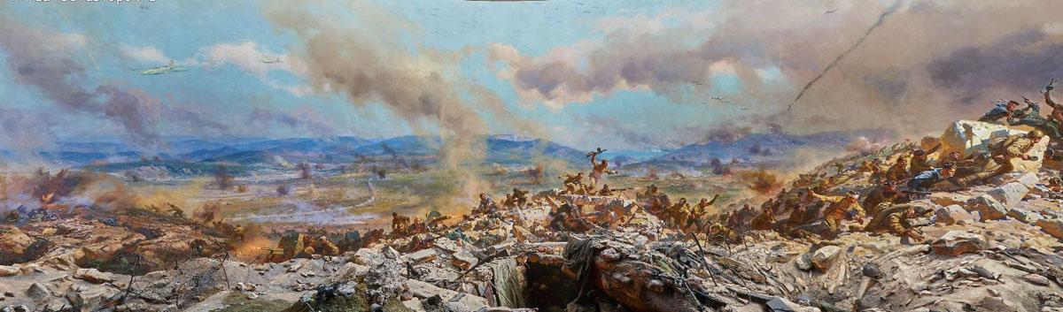 Диорамы «Штурм Сапун-горы 7 мая 1944 года»