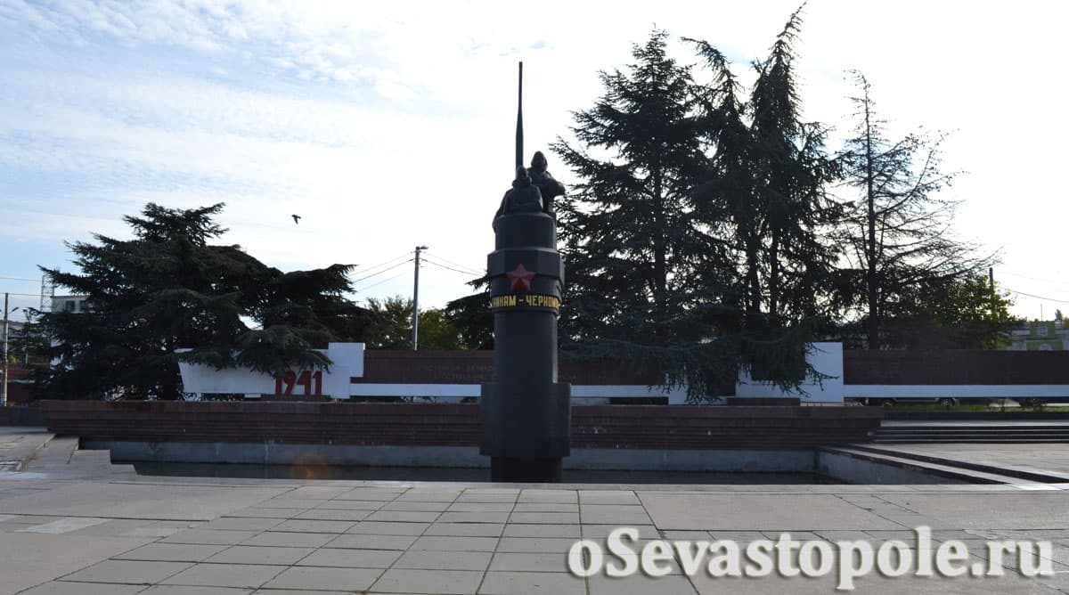 Фото памятника подводникам Севастополь