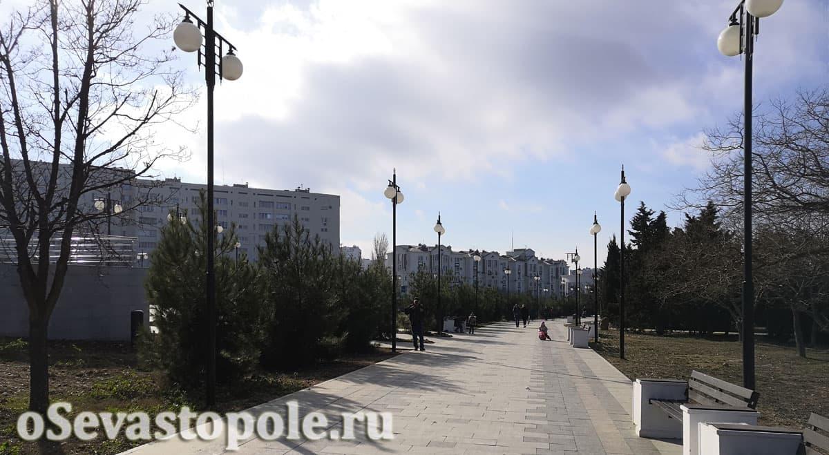 Фото Парка Победы в Севастополе