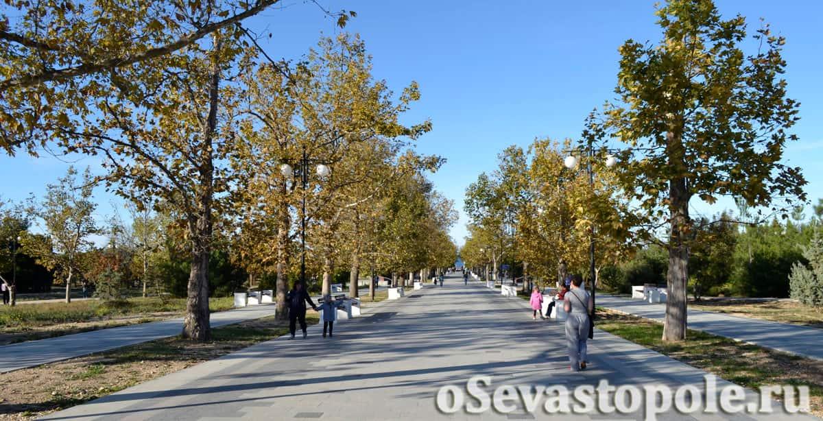 Фотографии Парка Победы в Севастополе