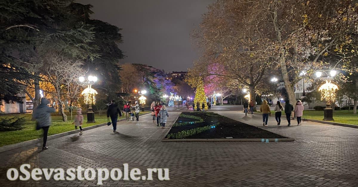 Нарядный Севастополь