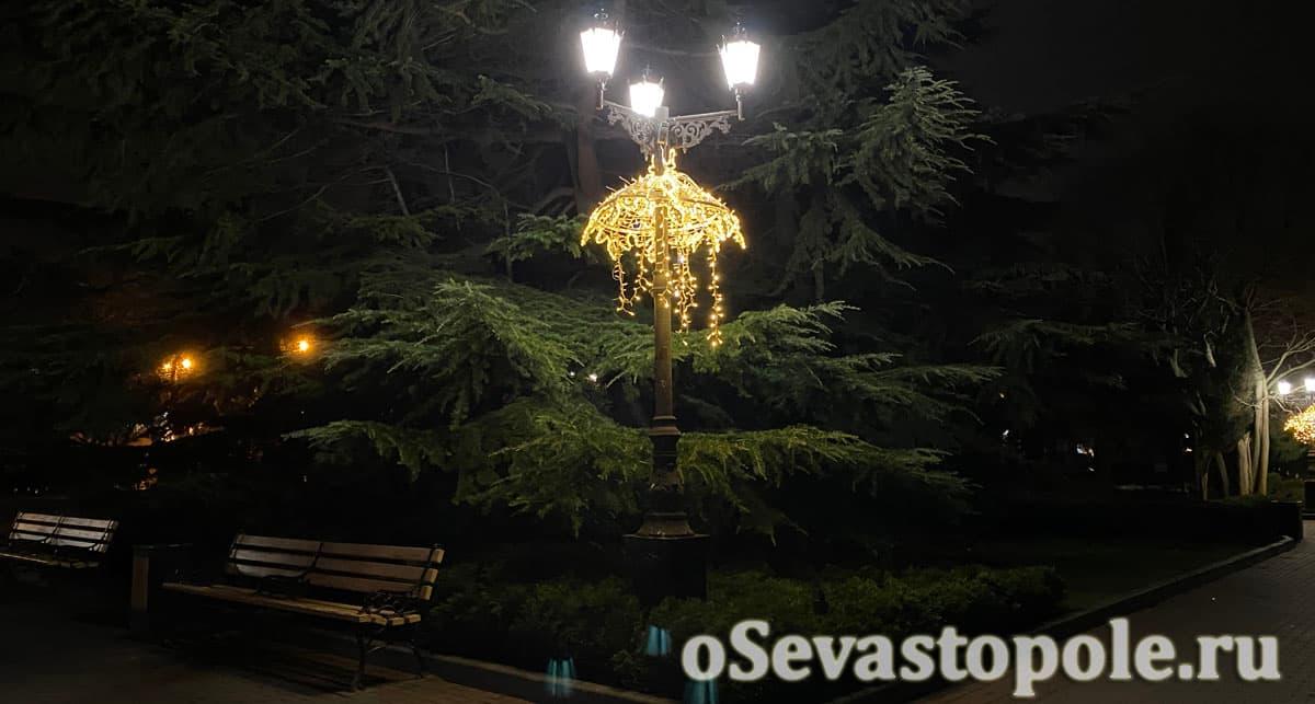 Новогодние декорации Севастополь