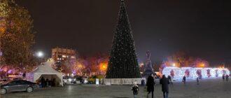 Новогодняя елка в Севастополе