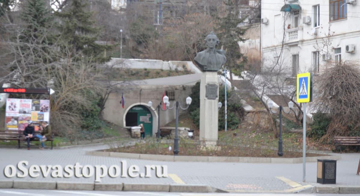 Памятник Суворову Севастополь