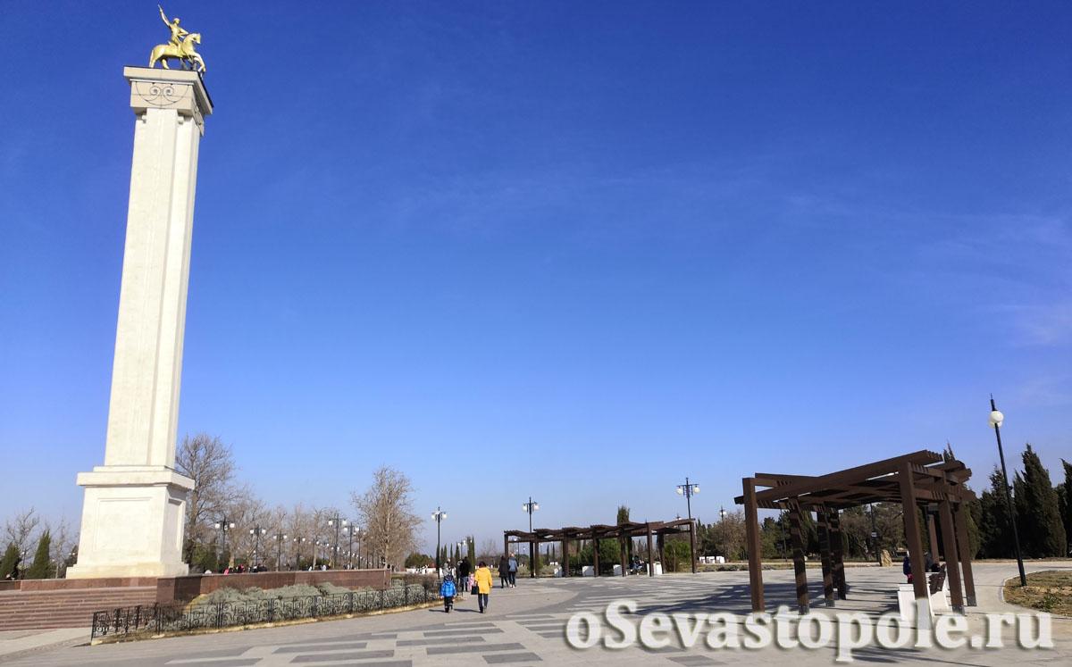 Парк Победы после реконструкции