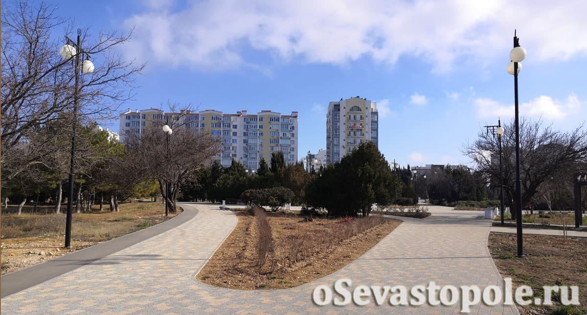 Парк Победы Севастополь после реконструкции