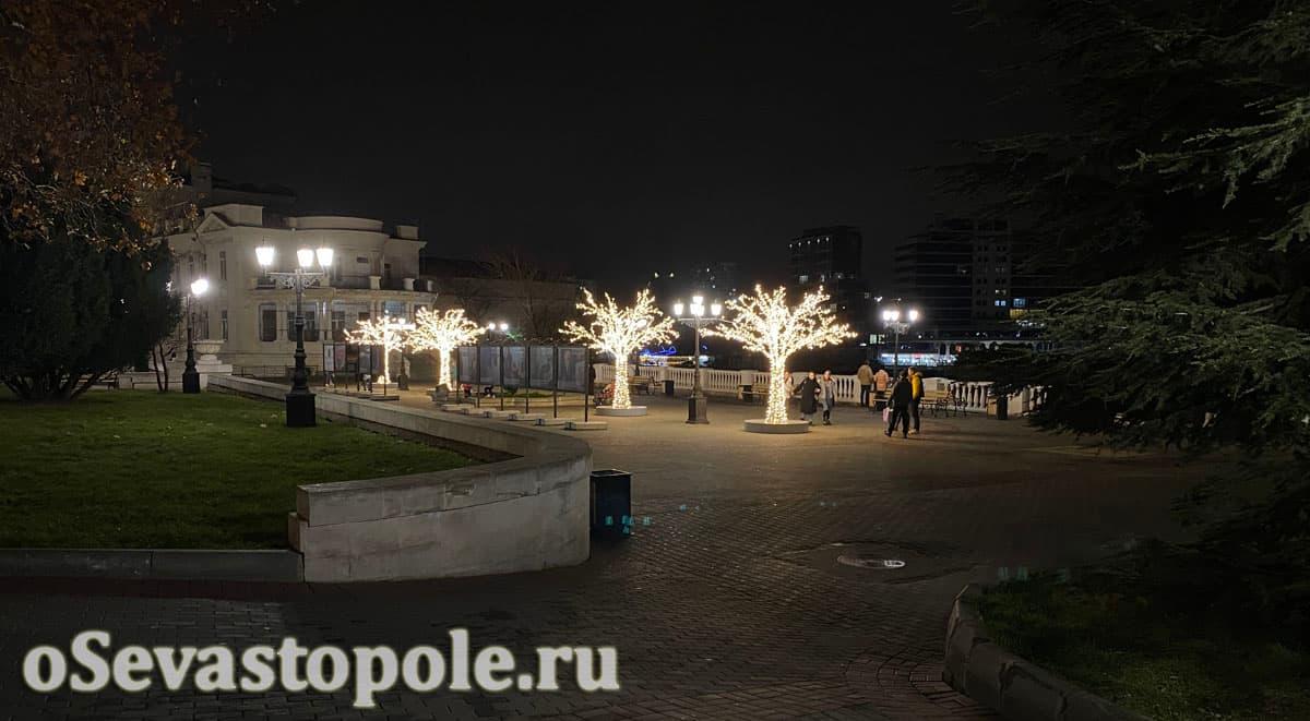 Севастополь на Новый год декорации