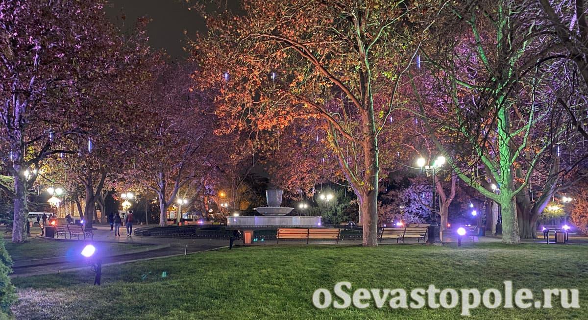 Украшения в Севастополе на Новый год