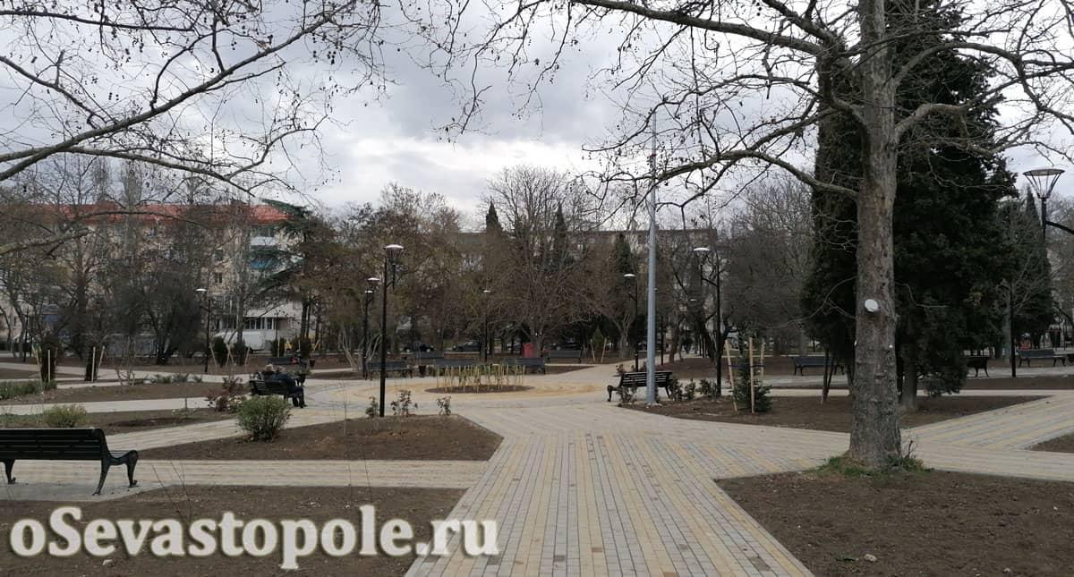 Фото парка Севастопольских курсантов