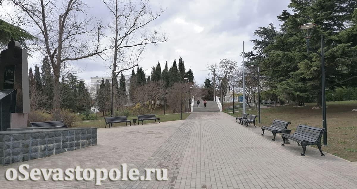 Фотографии сквера курсантов Севастополя