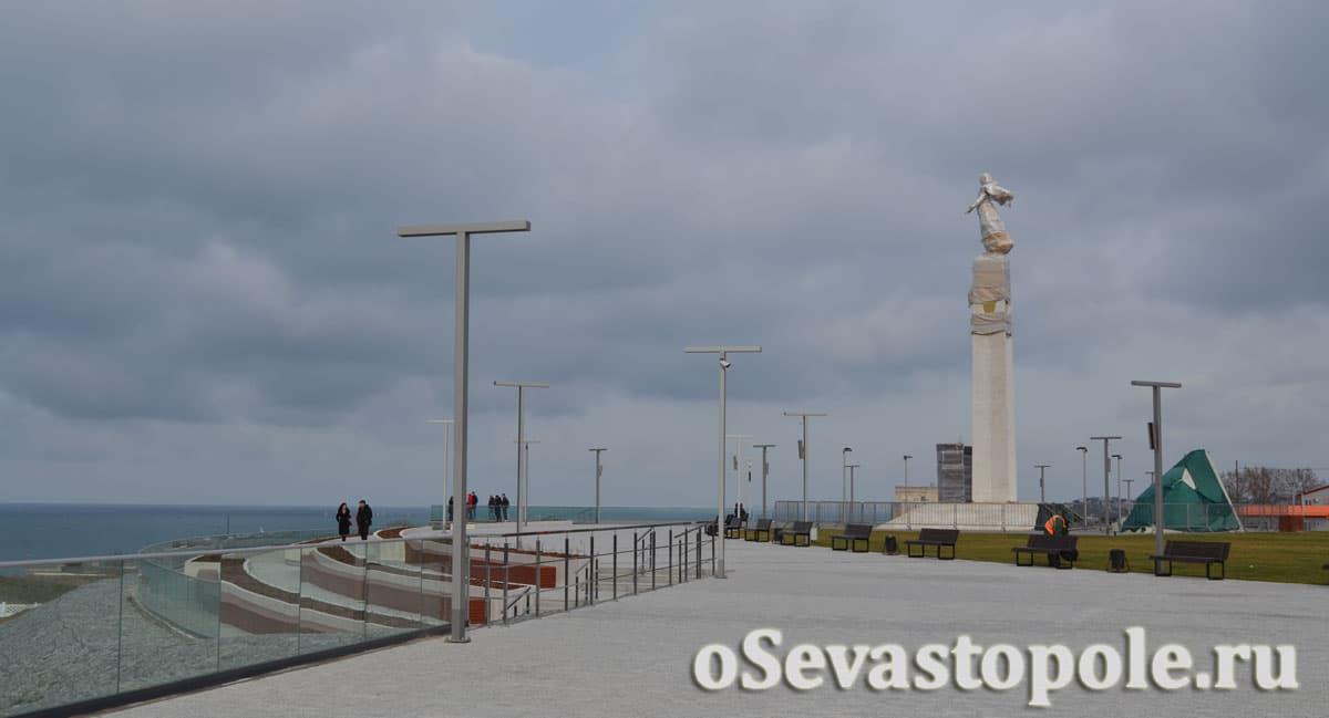 Набережная Катерная Севастополь