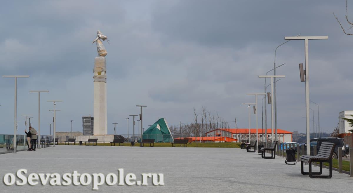набережная на Катерной улице в Севастополе