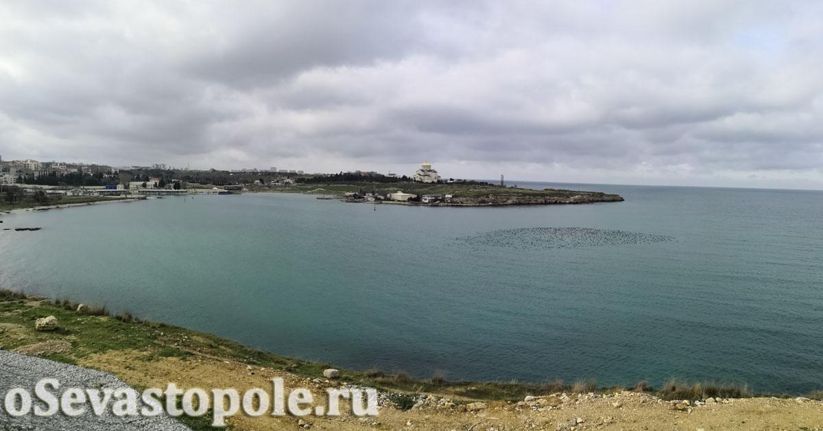 набережная Примирения в Севастополе