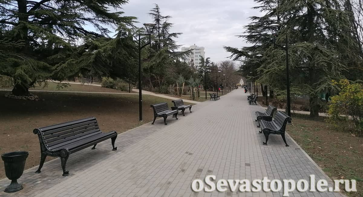 Парк курсантов Севастополь