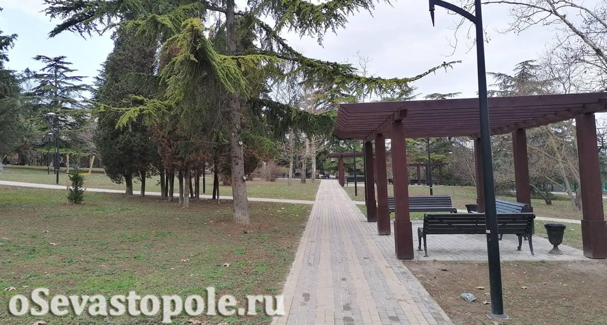 Парк курсантов в Севастополе