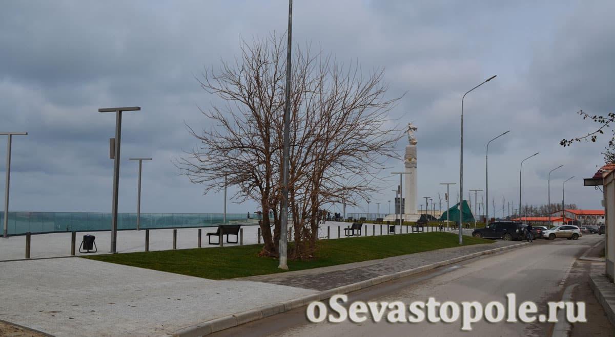 Парк на Катерной в Севастополе